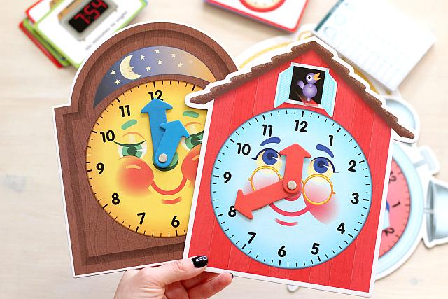 Učíme děti čísla a hodiny