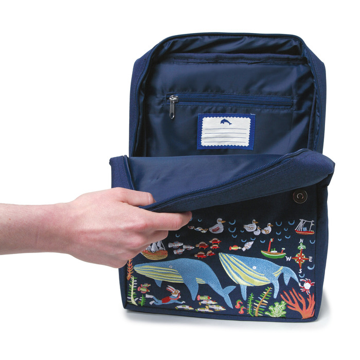 Happy Whales Backpack