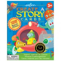 Create a Story Cards - Robot's Mission