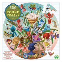 Crazy Bug Bouquet 500-Piece Puzzle