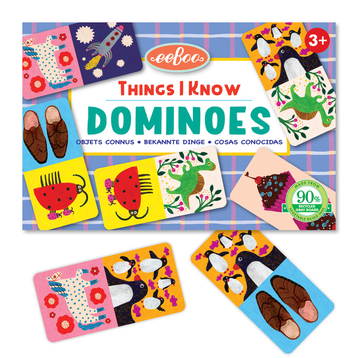 Things I Know Little Dominoes