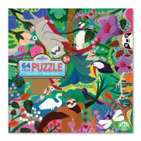 Sloths at Play 64-Piece Puzzle