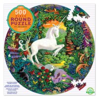 Unicorn Garden 500-Piece Puzzle