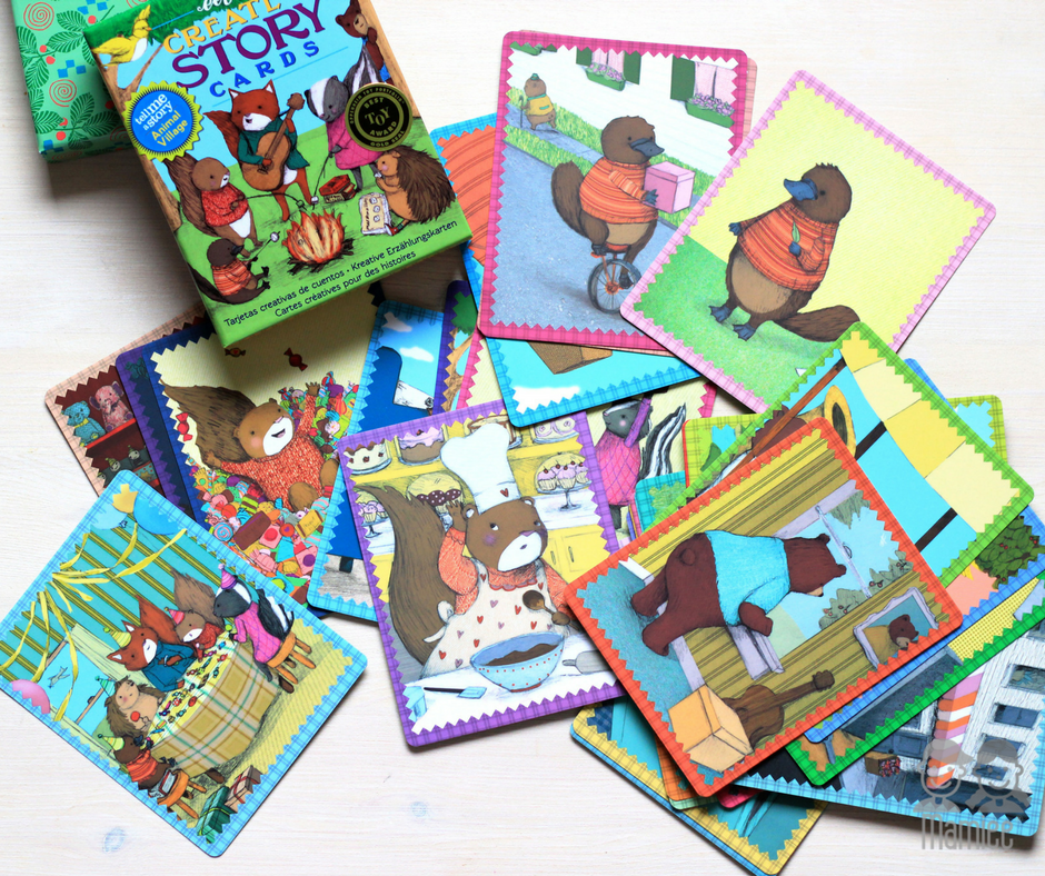 Create a Story Cards - Animal Village