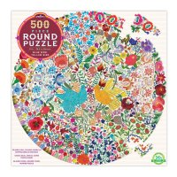 Blue Bird Yellow Bird 500-Piece Puzzle