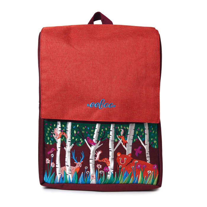 Bear in the Woods Backpack