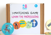 3-Matching & Memory game Learn the Professions
