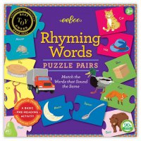 Rhyming Words Preschool Puzzle Pairs