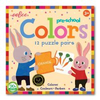 Colors Preschool Puzzle Pairs