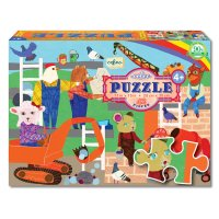 Animals at Work 42-Piece Puzzle