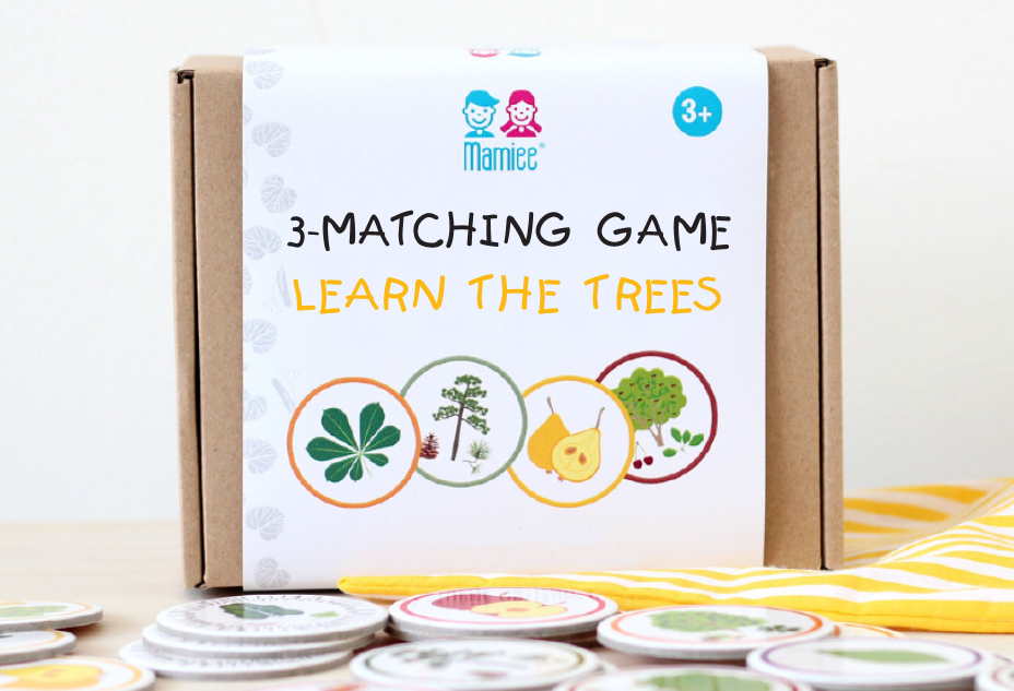 3-Matching & Memory game Learn the Trees