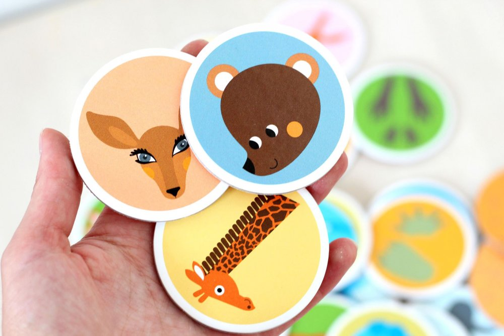 3-Matching & Memory game Learn the Animals