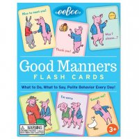 Flash cards - Good Manners