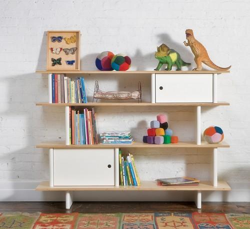 dětský pokoj, chytré ukládání