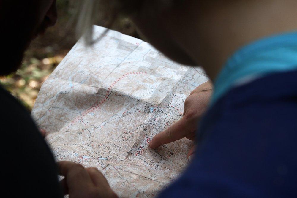 Článek Dítě na palubě - mapa